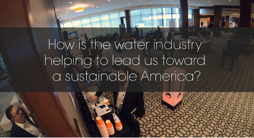 Thoughts from the American Water Summit - Sustainability