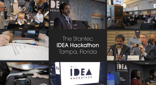 Stantec Idea Hackathon – Tampa, Florida
