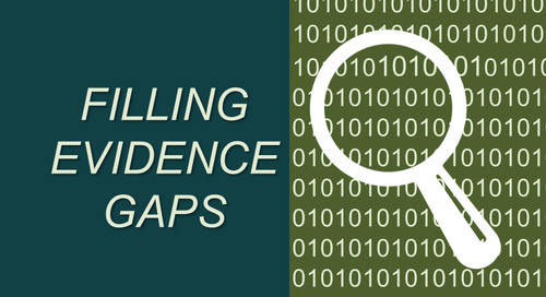 Three Steps For Filling Real-World Evidence Gaps