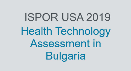 Health Technology Assessment in Bulgaria
