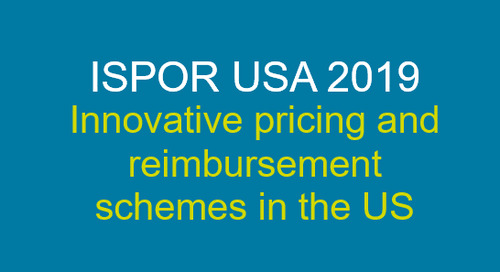 Innovative pricing and reimbursement schemes in the US