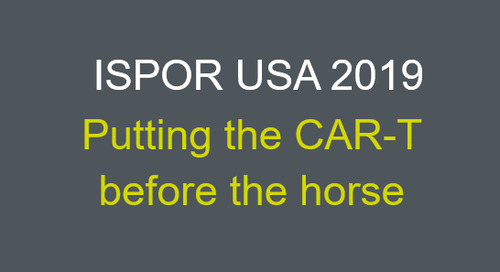 Putting the CAR-T before the horse