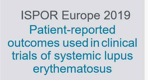 Patient-reported outcomes used in clinical trials of systemic lupus erythematosus