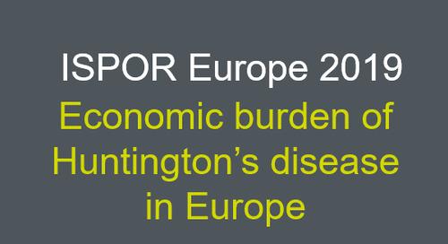 Economic burden of Huntington's disease in Europe