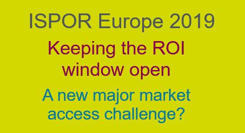 Keeping the ROI window open