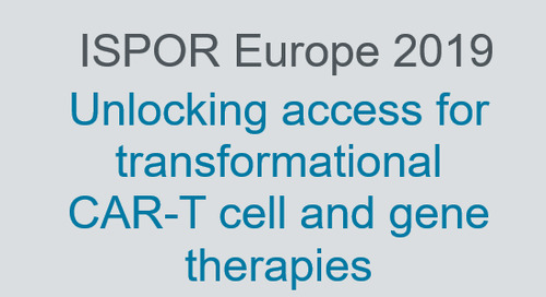 Unlocking access for transformational CAR-T cell and gene therapies