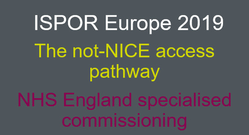 The not-NICE access pathway: NHS England specialised commissioning