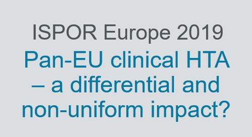 Pan-EU clinical HTA – a differential and non-uniform impact?