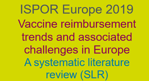 Vaccine reimbursement trends and associated challenges in Europe