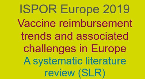 Vaccine reimbursement trends and associated challenges in Europe
