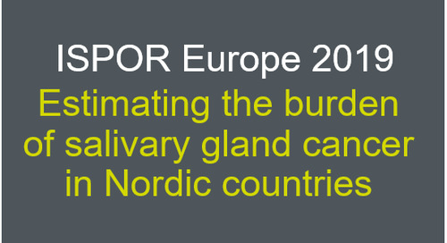 Estimating the burden of salivary gland cancer in Nordic countries