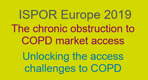 The chronic obstruction to COPD market access