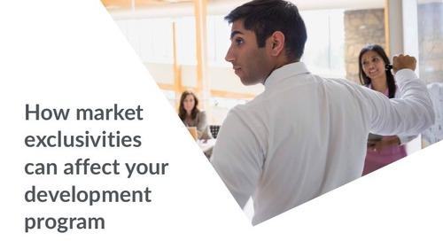 How market exclusivities can affect your development program