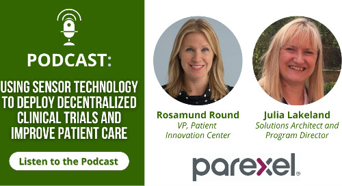 Using Sensor Technology to Deploy Decentralized Clinical Trials and Improve Patient Care
