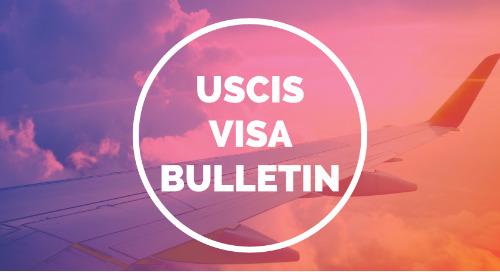 January 2018 USCIS Visa Bulletin