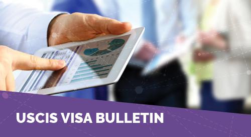 USCIS November 2018 Visa Bulletin