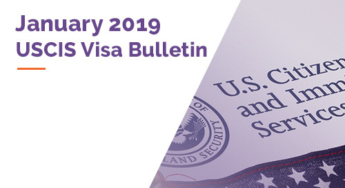 January 2019 Visa Bulletin