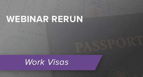 [Rerun] The ABCs of Immigration: The HR Guide To U.S. Visas and Green Cards