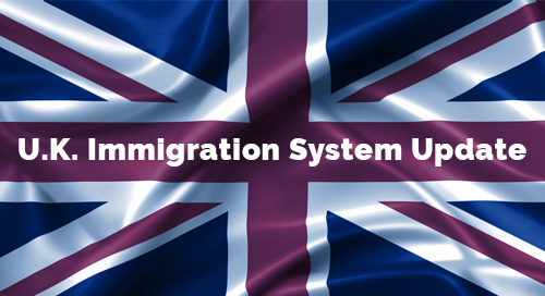 New U.K. Immigration System Update