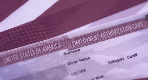 EAD: Employment Authorization Document Information