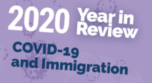 [Infographic] COVID-19 and Immigration