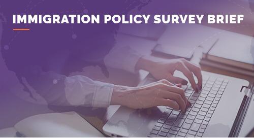 Envoy Immigration Policy Survey Brief