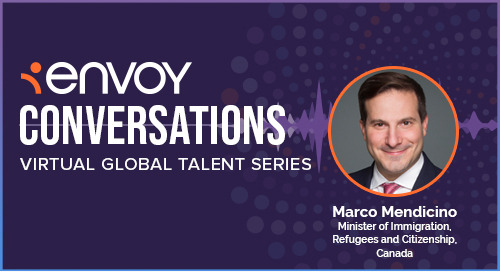 Envoy Conversations: Canadian Immigration Minister Marco Mendicino on Canada's Immigration Policy