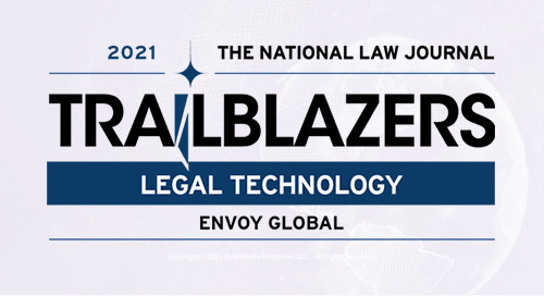 Envoy Global Recognized as 2021 Legal Technology Trailblazer by National Law Journal