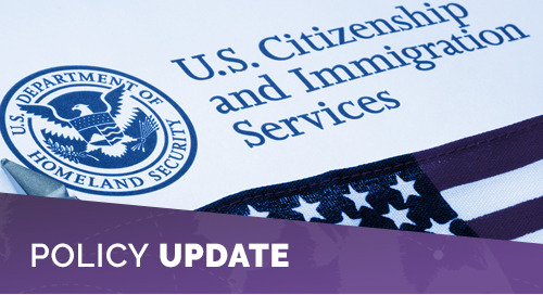 USCIS Updates Guidance in Policy Manual to Improve Immigration Services