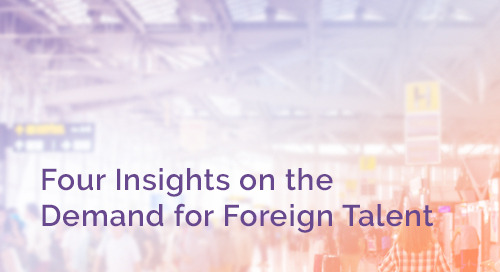 Four Insights on the Demand for Foreign Talent in 2020 and 2021