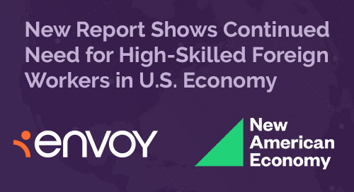 New American Economy Report Shows Continued Need for High-Skilled Foreign Workers in U.S. Economy