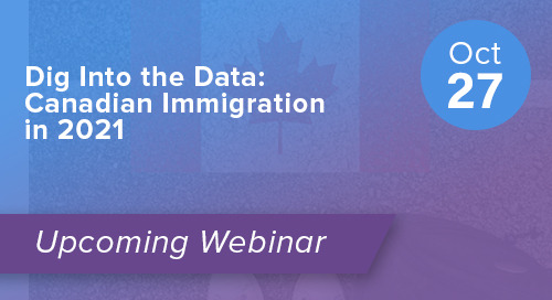 Dig Into the Data: Canadian Immigration in 2021