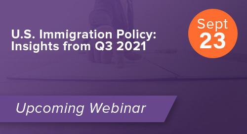 U.S. Immigration Policy: Insights from Q3 2021