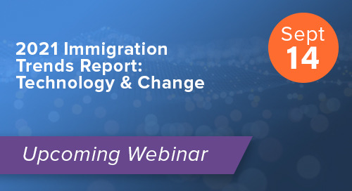 2021 Immigration Trends Report: Technology & Change