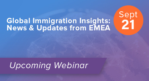Global Immigration Insights: News & Updates from EMEA