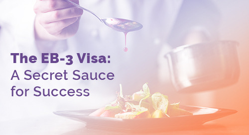 The EB-3 Visa: A Secret Sauce for Success
