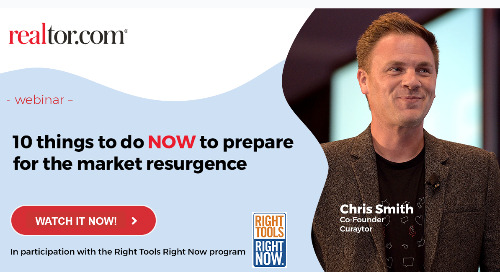 Recording: Chris Smith Special Webinar for NAR Members: 10 Things to Do Now to Prepare for the Resurgence