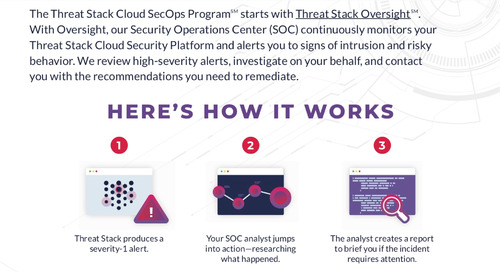 Anatomy of a Threat Stack Oversight Notification