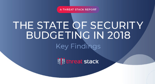 The State of Security Budgeting in 2018: Key Findings
