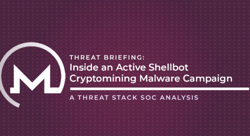 Inside an Active Shellbot Cryptomining Malware Campaign