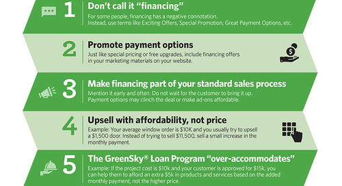 Infographic: 5 Ways to Use GreenSky Payment Options