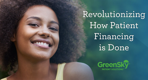 Revolutionizing How Patient Financing is Done