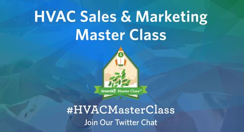 HVAC Master Class Twitter Chat