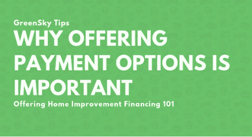 3 Reasons to Offer Home Improvement Financing