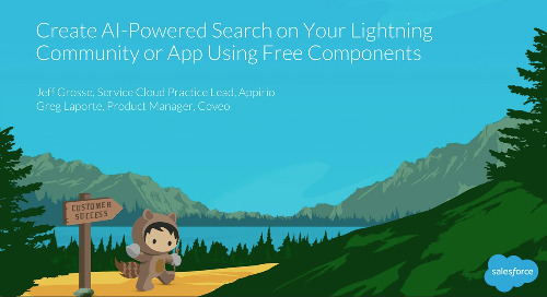 Create AI-Powered Search On A Lightning Community Or App Using Free Components