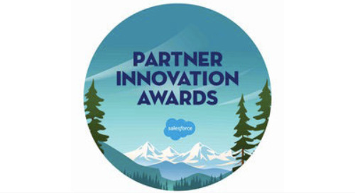 2017 Salesforce Partner Innovation Award