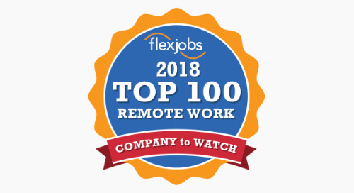 For the Second Year in a Row, Appirio Named a Top Company for Remote Work