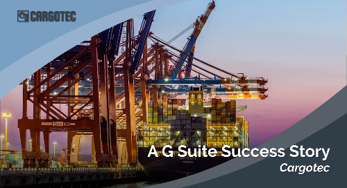 Cargotec: A G Suite Success Story