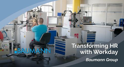 Baumann: Transforming HR with Workday