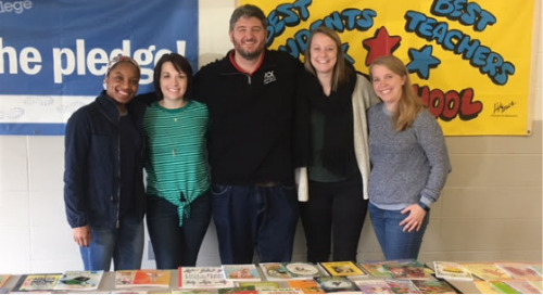 Appirio Partners with First Book to Donate 1,000 Books to Daniel Webster School